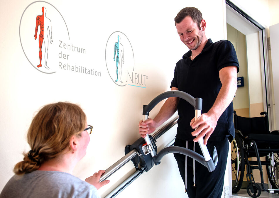 Trappetrening med trappeassistenten AssiStep