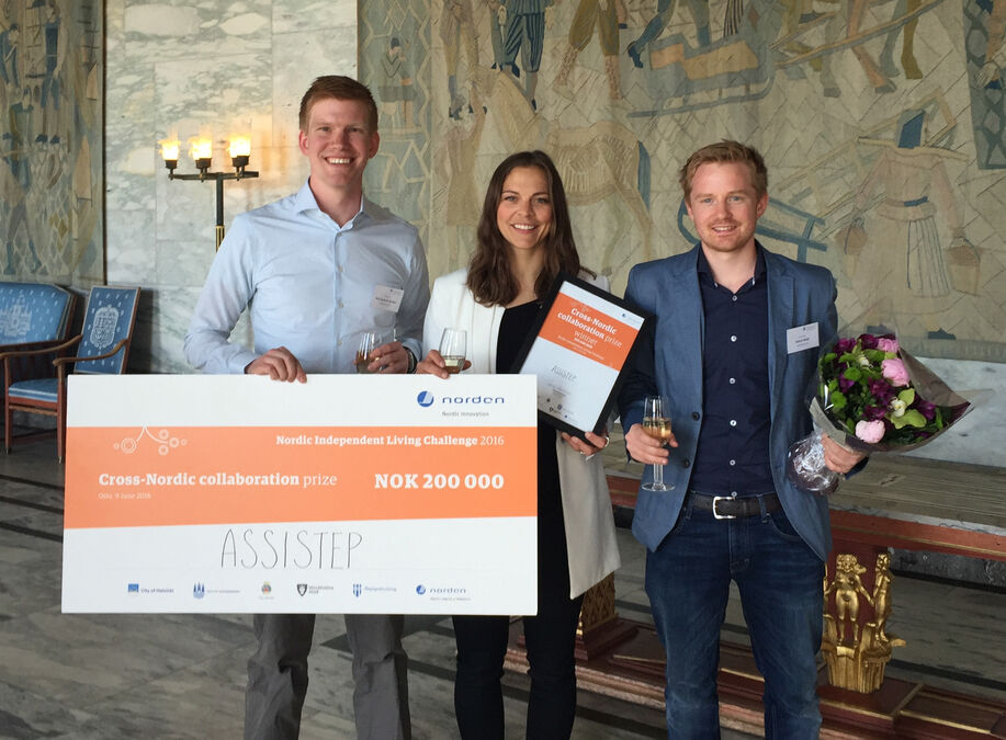 Assitech AS - Nordic Independent Living Challenge award